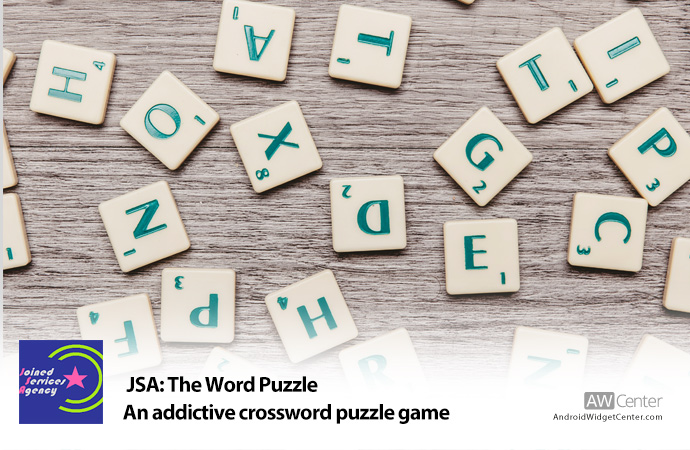 JSA: The Word Puzzle - Solve Crossword Puzzles - Android Widget Center