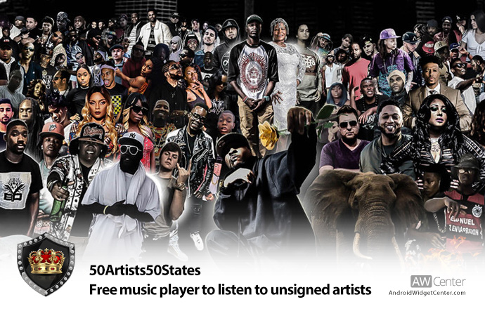 50Artists50States
