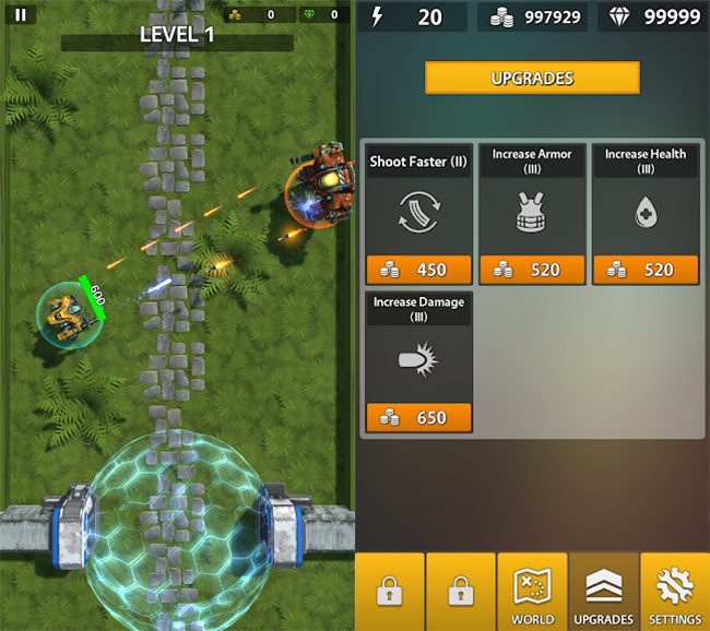 Mecha-Android-iOS