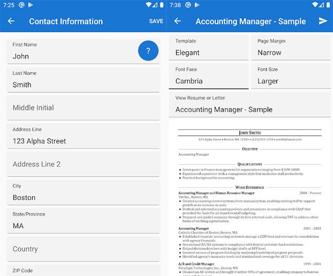Got-Resume-Builder-for-Android