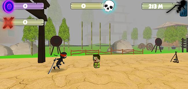 Samurai-Game-Endless-Runner-Jumper