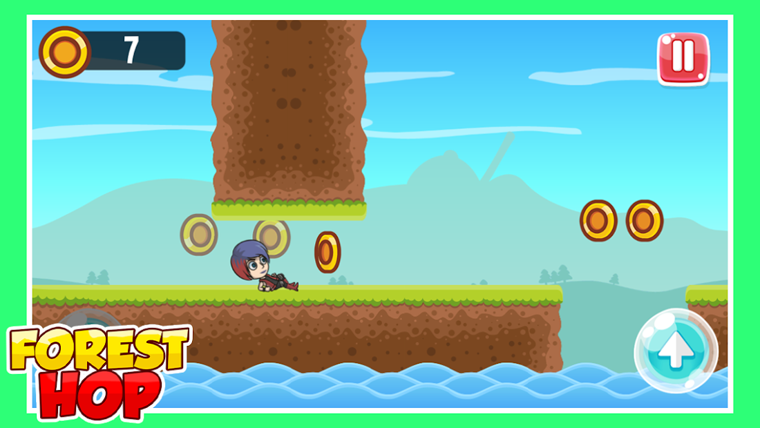 ForestHop Endless runner game for Android