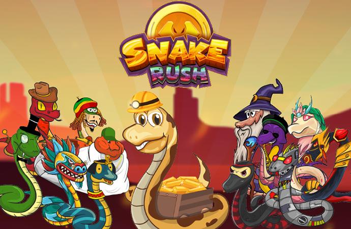 SnakeRush-Retro-Snake-Modern-Style