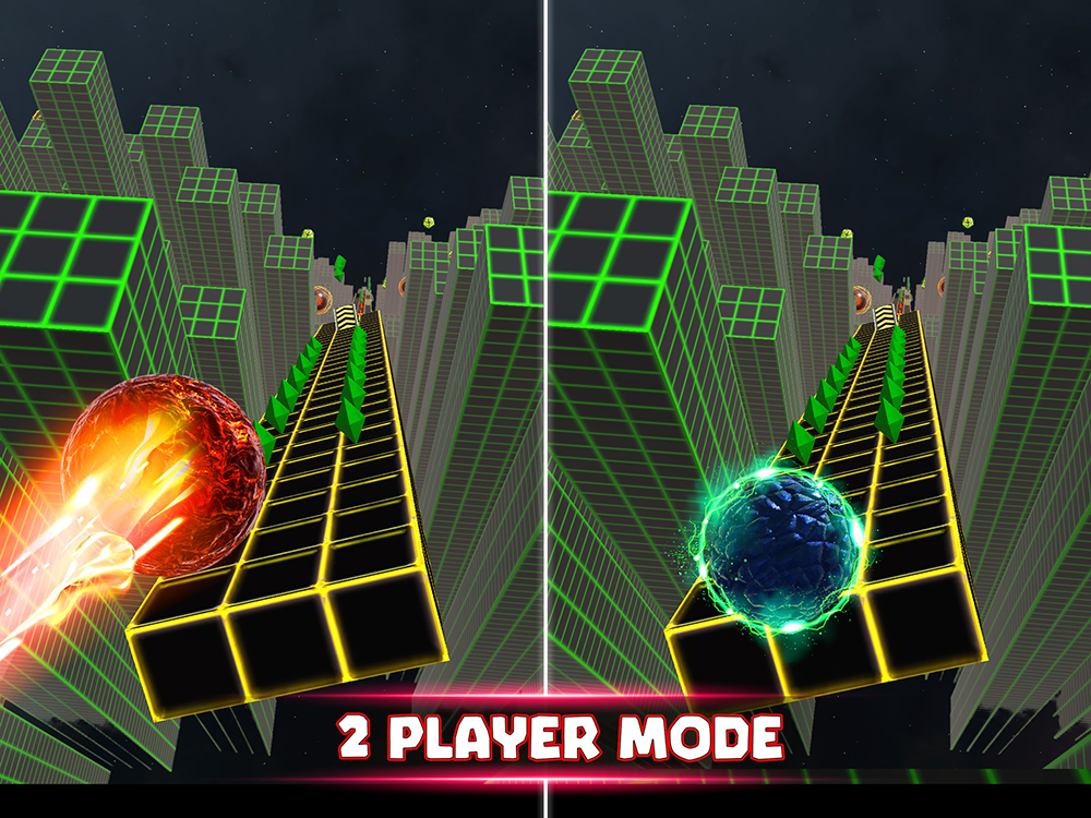 Two Ball 3D 2-Player Mode