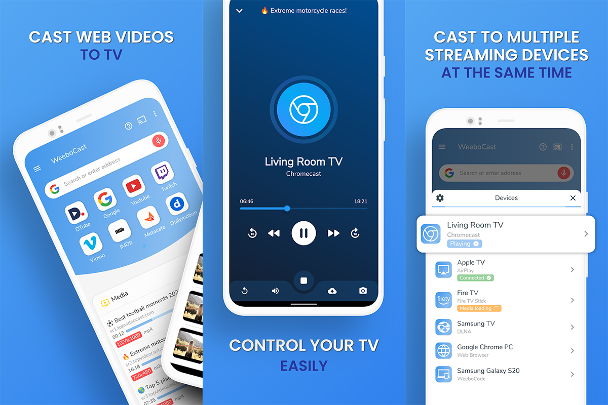 Free TV Cast for Android