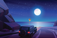 Hill Ride Physics Based Driving Game